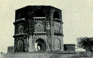 Tomb of Salabat Khan II - View around 1920