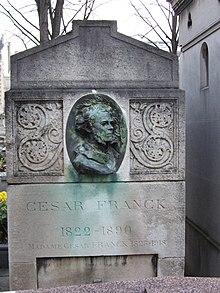 Tombe de César Franck