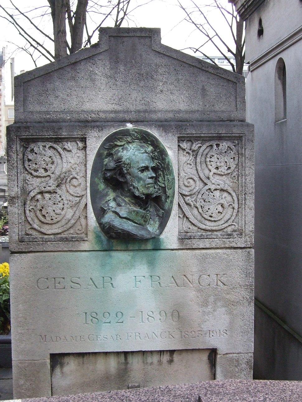Tomb of César Franck