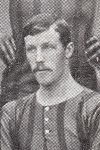 Tommy Davidson (footballer) - Davidson while with Brentford 1903