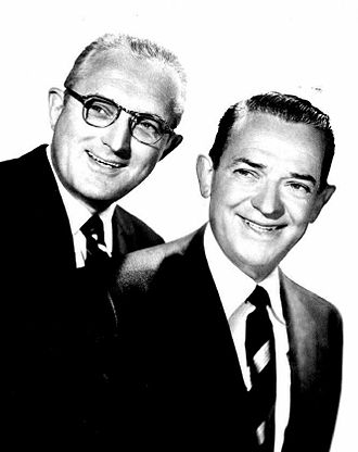 Stage Show (TV series) - Tommy and Jimmy Dorsey as hosts, 1955.