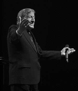 Tony Bennett - Tony Bennett performing in 2012
