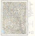 Topographic map of Norway, F35 vest Flesberg, 1964.jpg