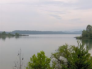 Toqua (Tennessee) - The now-submerged former site of Toqua