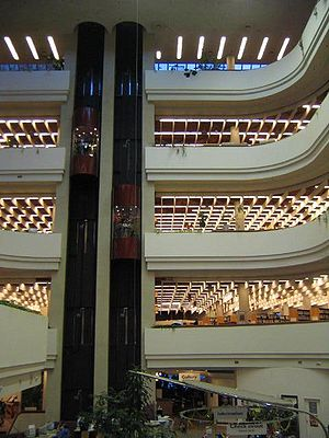 Toronto Reference Library - Toronto Reference Library as viewed from the 2nd floor, September 2005.