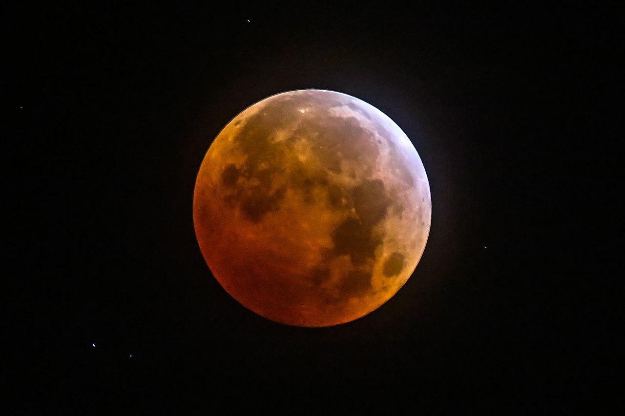 半影月食(penumbral lunar eclipse) - wuwei1101 - 西花社