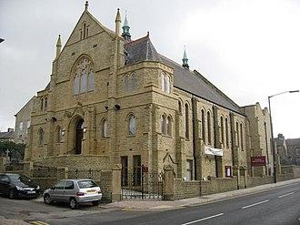 Tottington, Greater Manchester - Image: Tottington Methodist Church geograph.org.uk 375134