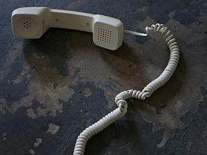 Tendril perversion - A telephone handset cord exhibiting tendril perversion