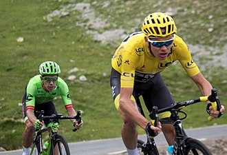 2017 Tour de France - Image: Tour de France 2017, froome uran (36124020176)