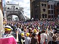 Tour de France through London 2007 Tower Bridge.jpg