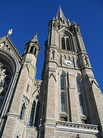 George Ashlin - Tower of St. Colman's Cathedral, Cobh