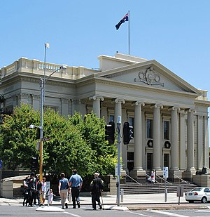 Victoria (Australia) - One of many local government seats, Geelong Town Hall