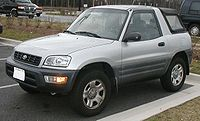 1998-2000 Toyota RAV4 2-door Convertible