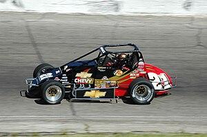 Tracy Hines - 2008 Sprint Car