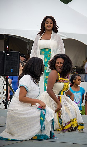 Demographics of Eritrea - A Tigrinya traditional dance.