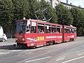 Tram 158 in Mere puiestee Tallinn 11 August 2015.JPG