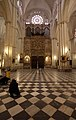 Transept organ of the Cathedral of Toledo.JPG