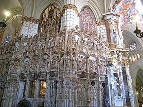 Resultado de imagen de primer transparente de la catedral de Toledo