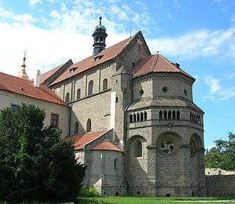 St. Procopius Basilica in Třebíč - Basilica of St Procopius