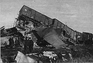 Rosmalen train accident - Image: Trein ongeluk Rosmalen 1920 (2)