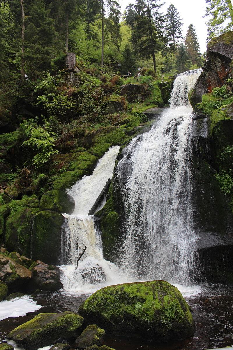 Cascada de Triberg. Imagen de Wikimedia commons