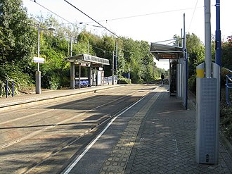 Trinity Way tram stop - Trinity Way tram stop