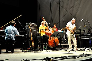 Paquito D'Rivera - Paquito D'Rivera with the Trio Corrente 2015 at the Horizonte world music festival at Ehrenbreitstein Fortress