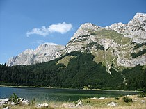 Trnovačko jezero, Maglić.jpg