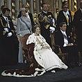 Troonswisseling 30 april inhuldiging in Nieuwe Kerk , tijdens eedsaflegging K, Bestanddeelnr 253-8270.jpg