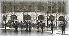 Войска на улицах Токио