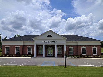 Troy Trojans - The Troy Golf Clubhouse