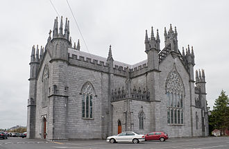Cathedral of the Assumption of the Blessed Virgin Mary, Tuam - Image: Tuam Cathedral of the Assumption SE 2009 09 14