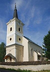 Tvarožná (okres Kežmarok), kościół św. Mateusza.jpg