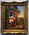Two Italian women looking at the doves by anonymous (1850s, GTG) FRAME.jpg