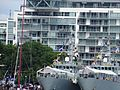 Two Kingston class naval vessels, moored in Toronto, 2016 07 01 (12) (28009210396).jpg