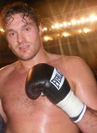 Tyson Fury - Fury after his professional debut, 2008