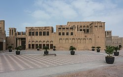 The Saeed Al Maktoum House is an important historic landmark in Al Shindagha