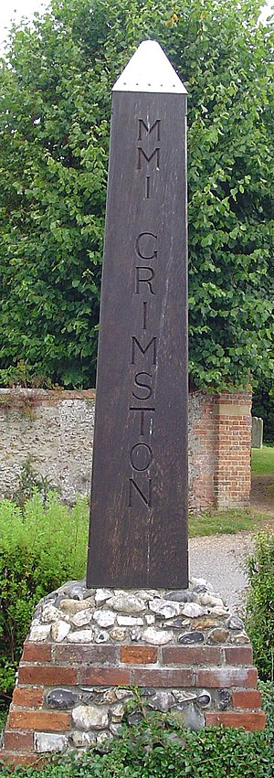 Grimston, Norfolk - Signpost in Grimston