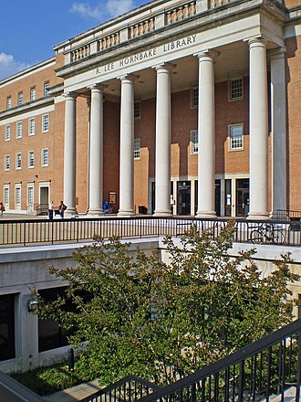 University of Maryland Libraries - Hornbake Library.
