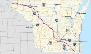 U.S. Route 12 in Wisconsin highway in Wisconsin