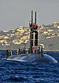 USS Alexandria arrives in Greece. (8413080101).jpg