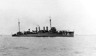 USS <i>Anthony</i> (DD-172)