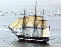 USS Constitution in 1997