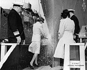 USS Ely (DE-309) launched