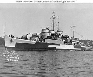 USS San Carlos (AVP-51) - Image: USS San Carlos (AVP 51)
