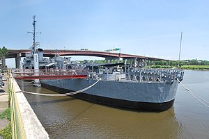 USS Slater Panorama