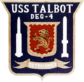 USS Talbot (DEG-4) insignia 1967.png