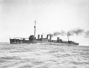 USS Woodbury (DD-309)