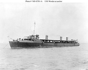 USS Worden (DD-16) - Image: USS Worden DD 16