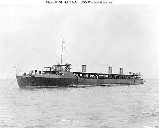 USS <i>Worden</i> (DD-16)